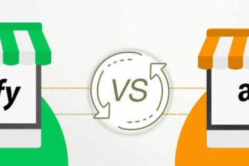 shopify vs amazon