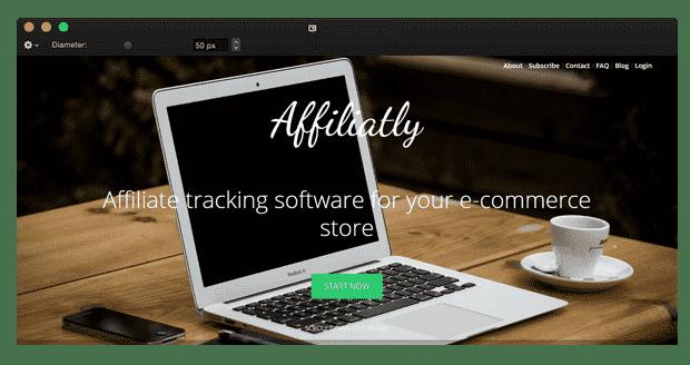 shopify affiliate app affiliatly