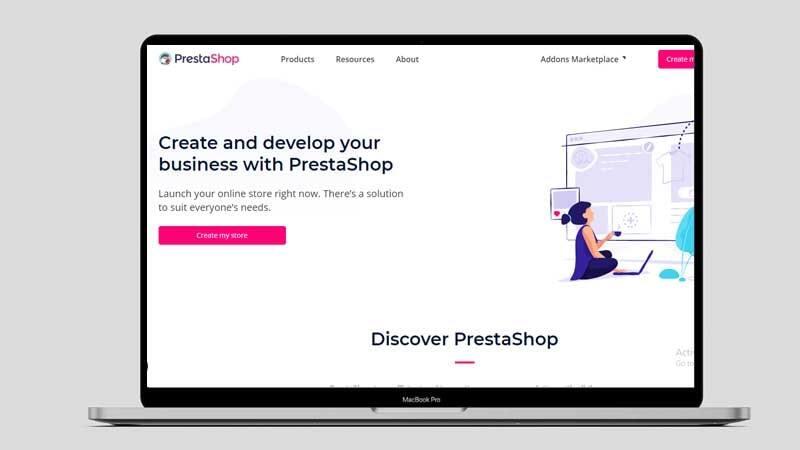 shopify alternative prestashop