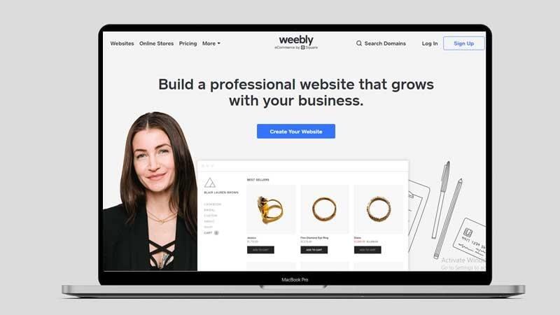 shopify alternative weebly